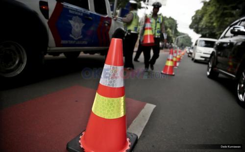 Rekayasa lalu lintas. (Foto: Ilustrasi/Dede Kurniawan/Okezone)