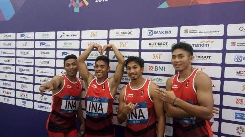 Atlet lari Indonesia