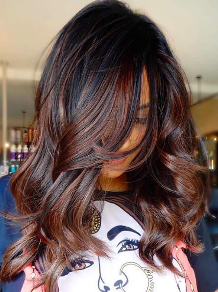warna rambut untuk kulit gelap