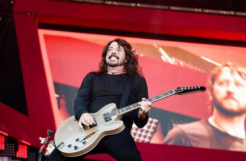 Dave Grohl Foo Fighters.