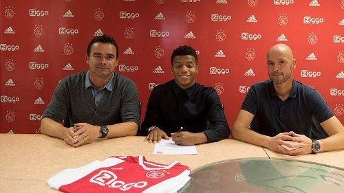 David Neres resmi perpanjang kontraknya di Ajax