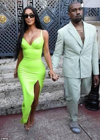 Kanye West dan Kim Kardashian