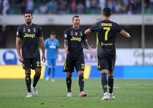 Emre Can, Bernardeschi, Ronaldo (Reuters)