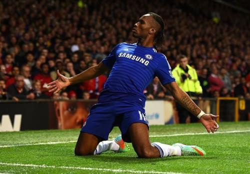 Drogba saat masih berada di Chelsea