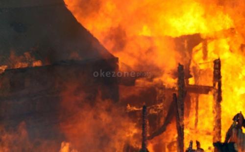 Ilustrasi kebakaran. (Foto: Okezone)