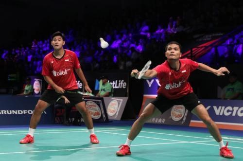 Ricky Karanda Suwardi/Angga Pratama tersingkir dari Thailand Open 2019