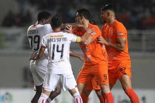 Persija Jakarta musim lalu menang 1-0 di markas Borneo FC (Foto: Twitter/Persija Jakarta)