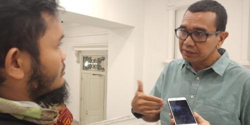 Ketua DPP Partai Perindo Bidang Komunikasi dan Media Massa, Arya Sinulingga. (Foto : Muhamad Rizky/Okezone)