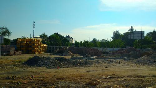Lokasi pembangunan Stadion BMW di Jakarta Utara. (Foto : Fadel Prayoga/Okezone)