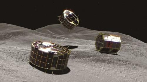 Jepang mengatakan wahana untuk menjelajahi antariksa sampai jarak yang jauh (deep space) telah berhasil mendarat di asteroid.