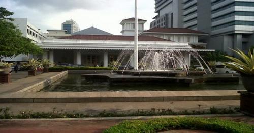 Ilustrasi Gedung Balai Kota Jakarta