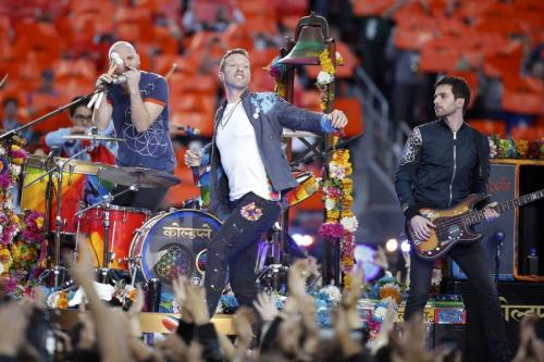 Coldplay gandeng BTS berduet dalam My Universe. (Foto: Reuters