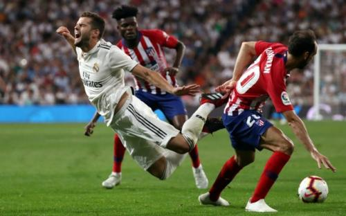 Real Madrid vs Atletico Madrid di ICC 2019