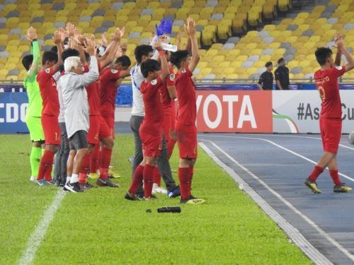 Para pemain Timnas Indonesia U-16