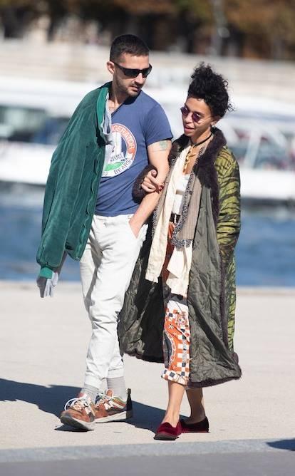 Shia LaBeouf dan FKA Twigs.