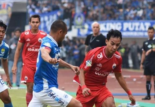 Persib Bandung vs Persija Jakarta di Liga 1 2018