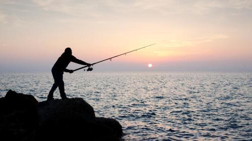 Orang memancing