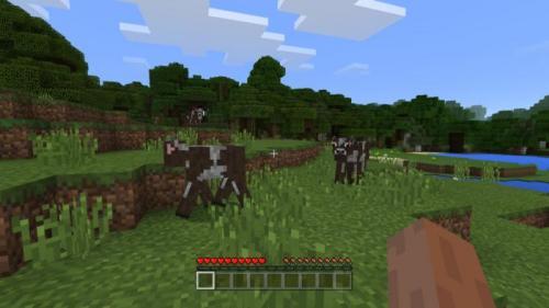 Minecraft adalah game sandbox yang diciptakan oleh Mojang.
