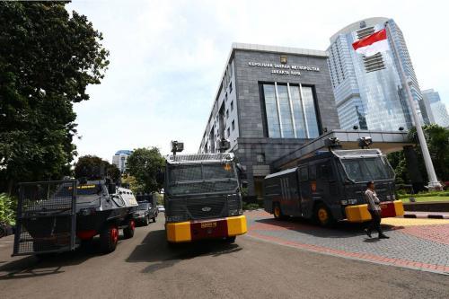 Ilustrasi Gedung Polda Metro Jaya