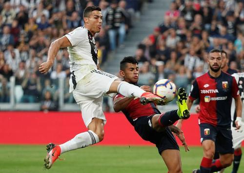 Juventus vs Genoa di pertemuan pertama
