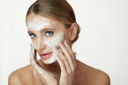 Ilustrasi skincare