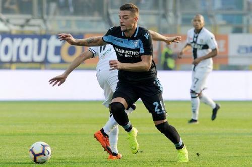Milinkovic-Savic saat bela Lazio