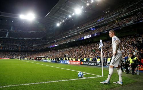 Kroos salah satu gelandang andalan Madrid saat ini