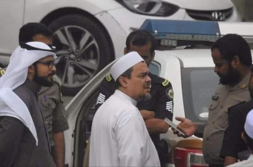 Habib Rizieq di Arab Saudi
