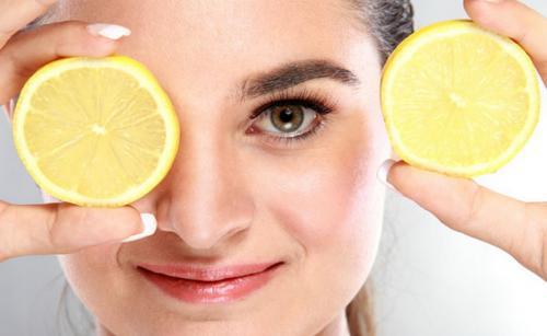lemon untuk wajah