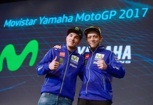 Valentino Rossi dan Maverick Vinales