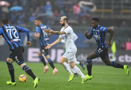 Atalanta vs Inter Milan (Foto: Twitter/@Inter_en)