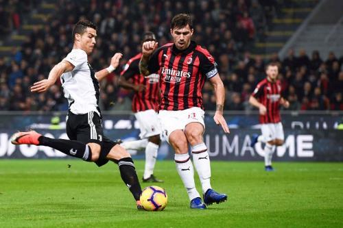 Performa Juventus di laga tandang musim lalu cukup bagus (Foto: Situs resmi AC Milan)