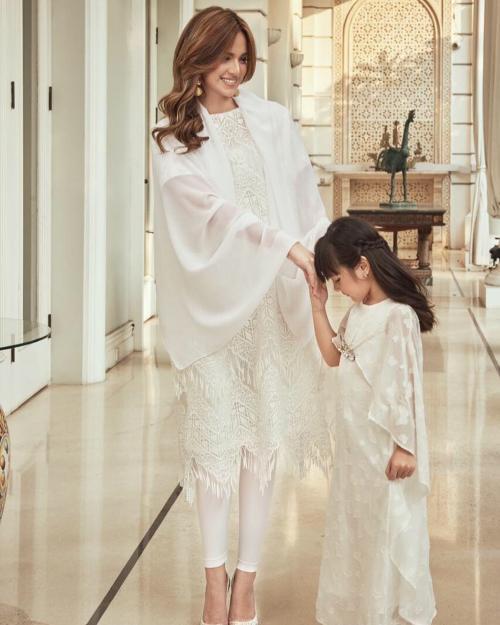 Nia Ramadhani dan Mikhayla