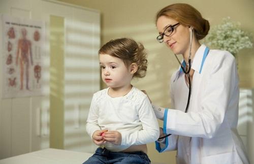 Ilustrasi pemeriksaan anak