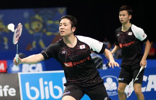 Hiroyuki Endo dan Yuta Watanabe