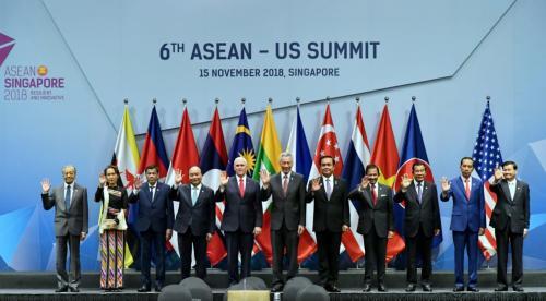 Kepala Negara dari 10 anggota ASEAN (Foto: Biro Pers Kepresidenan RI)