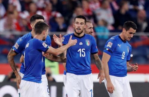 Timnas Italia kerap kali menjadi tim yang sering menerapkan permainan catenaccio