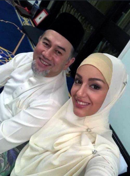 Pernikahan Oksana dengan Raja Malaysia