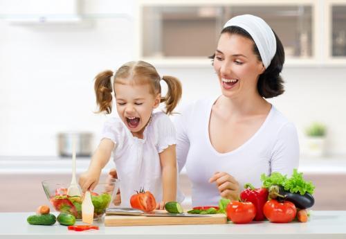anak makan sehat