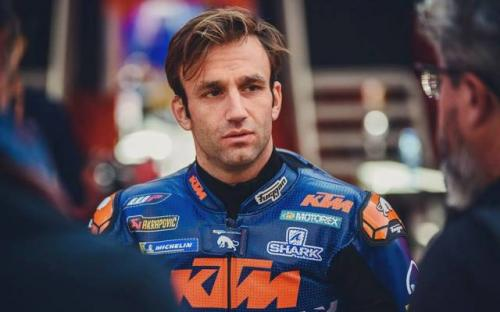 Pembalap Tim KTM Red Bull, Johann Zarco