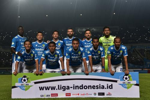 Skuad Persib Bandung di Liga 1 2018