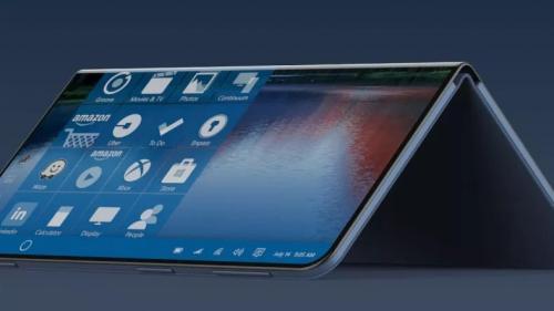 Microsoft buat tablet lipat yang mampu menjalankan aplikasi Androi di 2020?
