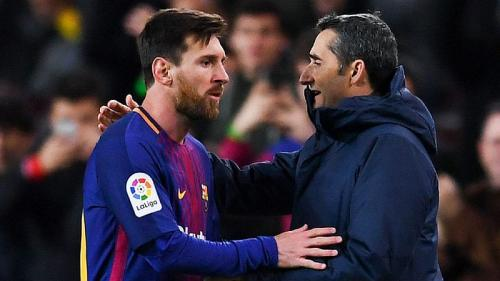 Messi dan Valverde