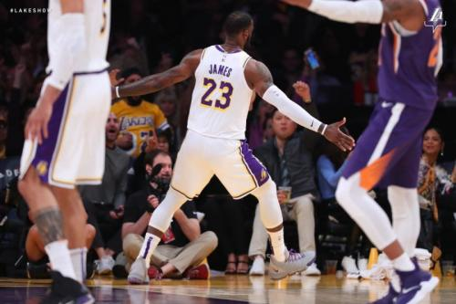 Penampilan LA Lakers pada 2018-2019