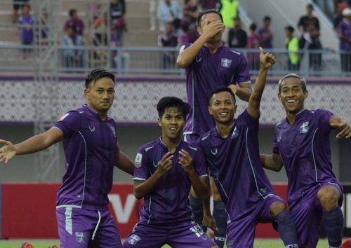 Skuad Persita Tangerang di Liga 2