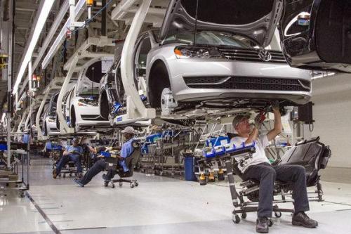 Pabrik Volkswagen