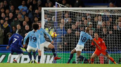 Laga Chelsea vs Manchester City