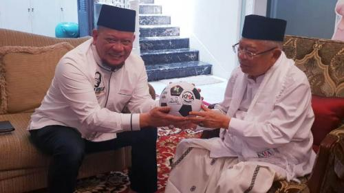 La Nyalla dan Maruf Amin