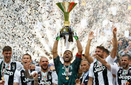 Juventus juara Liga Italia 2017-2018