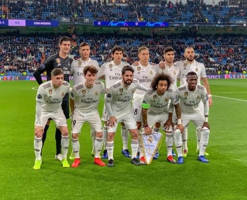 Real Madrid (Foto: Twitter/@realmadrid)